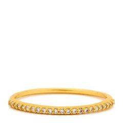 Gorjana  钻石戒指  147-3096-02-G*Shimmer Bar Ring图片