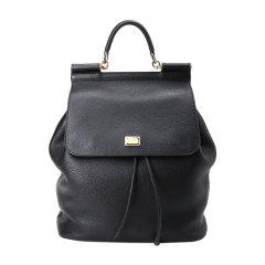 Dolce&Gabbana/杜嘉班纳包袋-女士牛皮黑色包图片