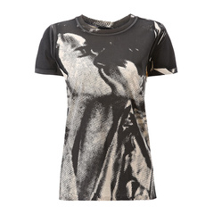 Emporio Armani/安普里奥阿玛尼女士T恤-女士橘色短T恤100棉图片