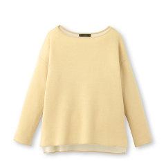 UNTITLED/UNTITLED 女士针织衫/毛衣加大码腈纶混纺侧开衩圆领针织衫15317060图片