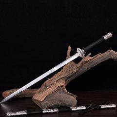 Zhou Shi/周氏 龙泉剑非物质文化遗产 豪华镀银唐剑图片