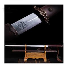 Zhou Shi/周氏 龙泉剑非物质文化遗产 铜装百炼钢唐剑图片