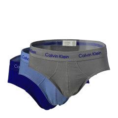 Calvin Klein/卡尔文·克莱因 男士内裤黑色棉质微弹力三角内裤三条装 NU2661图片