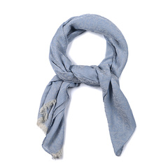 ARMANI COLLEZIONI/阿玛尼卡尔兹围巾-男士蓝围巾图片