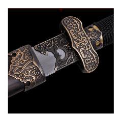 Zhou Shi/周氏 龙泉剑非物质文化遗产 羽毛钢 汉武剑图片