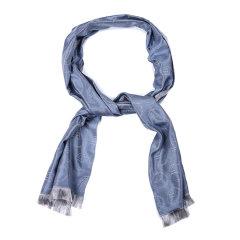 【可用劵】ARMANI COLLEZIONI/阿玛尼卡尔兹丝巾-男士蓝丝巾图片