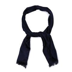 【可用劵】ARMANI COLLEZIONI/阿玛尼卡尔兹丝巾-男士深兰丝巾图片