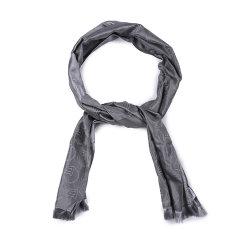 【可用劵】ARMANI COLLEZIONI/阿玛尼卡尔兹丝巾-男士灰色格子丝巾图片