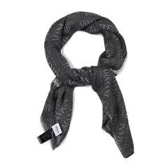 ARMANI COLLEZIONI/阿玛尼卡尔兹围巾-男士灰色印花围巾图片