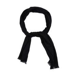 ARMANI COLLEZIONI/阿玛尼卡尔兹围巾-男士黑色围巾图片