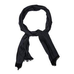 ARMANI COLLEZIONI/阿玛尼卡尔兹围巾-男士深灰围巾图片