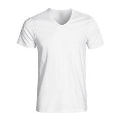 Calvin Klein/卡尔文·克莱因 男睡衣/家居服纯棉V领短袖T恤三条装 M4065图片