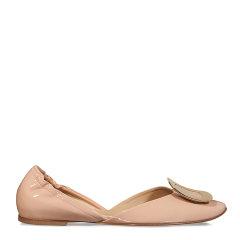 Roger Vivier/罗杰·维维亚 女士蓝色真皮芭蕾舞鞋图片