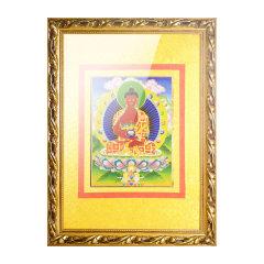 goldentara/金色度母掐丝工艺唐卡阿弥陀佛佛像78cm*58cm图片
