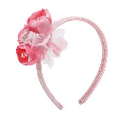 Hanakimi英国品牌花与爱丽丝 女童仿真花朵防滑头箍TK506图片