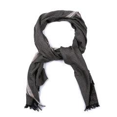 ARMANI COLLEZIONI/阿玛尼卡尔兹围巾-男士咖色围巾图片