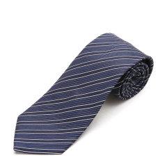 ARMANI COLLEZIONI/阿玛尼卡尔兹领带-男士蓝色条纹领带图片