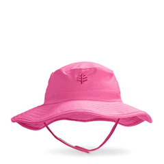 Coolibar 多国防晒机构认证 Splashy 超轻速干可折叠 宝宝遮阳帽UPF50+图片