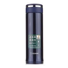 ZOJIRUSHI/象印保温杯 泰国进口不锈钢真空保冷直身男女茶水杯子带滤网460ML图片