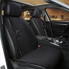 纳图 汽车坐垫 免捆绑花纹汽车羊毛座垫  冬季坐垫  保暖坐垫 汽车座垫图片