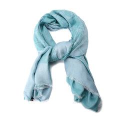 Emporio Armani/安普里奥阿玛尼围巾-女士绿色围巾图片