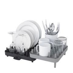 Joseph joseph/Joseph joseph 可调节餐具碗盘碟沥水架 创意厨房收纳架图片