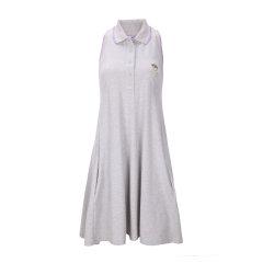 KENZO/高田贤三 paris灰色纯棉休闲款女士无袖连衣裙,RO856 981 93,M图片