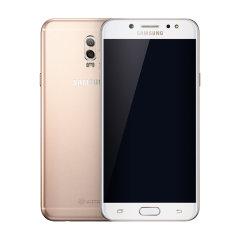 三星 Galaxy C8(SM-C7100)4GB+64GB 墨玉黑 全网通 4G手机 双卡双待图片