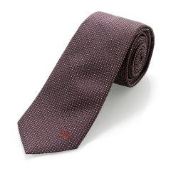 BURBERRY/博柏利 桑蚕丝紫红色男士领带