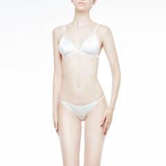 【DesignerWomenwear】DAREONE/DAREONED-light系列舒适真丝三角杯文胸内裤礼盒性感舒适女士内衣套装1图片