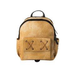 加拿大VENQUE/范克CrossELLE水洗做旧时尚背包潮流织物/配皮中性款式双肩包图片