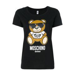 MOSCHINO/莫斯奇诺  2018新款女士墨镜小熊 短袖T恤 A1915 2104 555图片