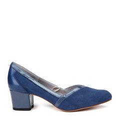 COZY STEPS/COZY STEPS 羊皮拼接尖头女士低/中跟鞋图片