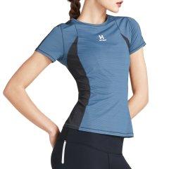HOTSUIT/后秀 运动T恤女 2019夏季 新款 圆领修身透气舒适健身速干运动短袖图片
