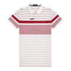 HAZZYS/哈吉斯男士短袖Polo衫格纹时尚休闲T恤哈吉斯男士短POLO衫ASTZE08BE12图片