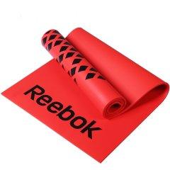 锐步(Reebok)进口183*61cm加长NBR瑜伽垫 加厚防滑8mm环保健身运动垫子RAMT-12235RD/BL图片