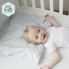 FOSSFLAKES丹麦进口 全棉 婴儿枕套 儿童枕套 单只装40*45图片