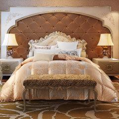 ROYAL ROSE/皇室玫瑰 95%白鹅绒提花面料冬季保暖羽绒被斯诺 200*230cm/230*230cm 230*230cm图片