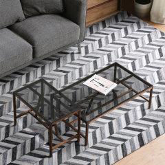 DOWNESSA爱丁堡小调 设计师原创羊毛混合地毯图片