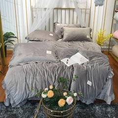 ROYAL ROSE/皇室玫瑰 宝宝绒四件套 秋冬保暖绒床单被套图片