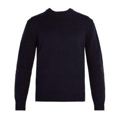 【特惠促销款】PRADA/普拉达 羊毛长袖男士针织衫/毛衣 #SMM906 V18黑色 F0002 意码54黑色 F0002 意码56图片