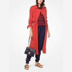 MICHAEL MICHAEL KORS/MICHAEL MICHAEL KORS  19新款女式  时尚休闲 垂坠质地风衣外套 MH82HU86BZ图片