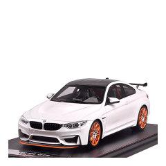 宝马 M4仿真汽车模型1:18 手工版树脂光滑漆面搜藏款仿真静态汽车模型摆件可定制车牌图片