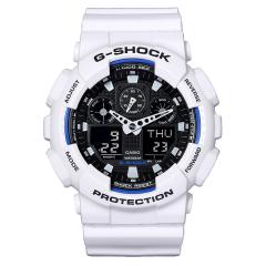 CASIO/卡西欧  G-SHOCK系列 GA-100系列迷彩大表盘双显运动手表男图片