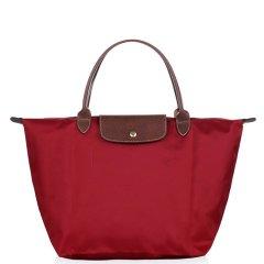 Longchamp/珑骧 女士Le Pliage系列织物中号短柄可折叠手提包 1623 089 B49图片