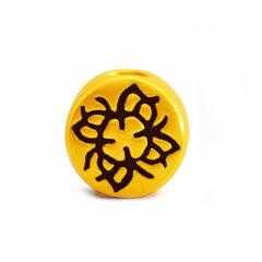 Magifas/Magifas 刺青系列 3D硬金足金 转运珠皮绳运势手链 九选一 力量图片