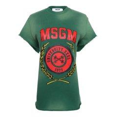 MSGM/MSGM  【17春夏】圆领印花图案女士短袖T恤 2241MDM92 174294图片