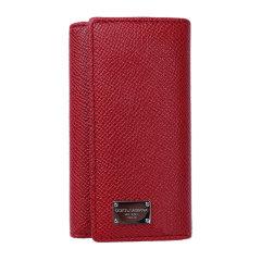 【包税】DOLCE&GABBANA 杜嘉班纳 女性牛皮长款卡包 卡夹 手包 钱夹 钱包 钥匙包 褐色170303红色 红色图片