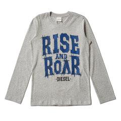 DIESEL KIDS 迪赛 男童长袖T恤 儿童T恤 1174T001图片