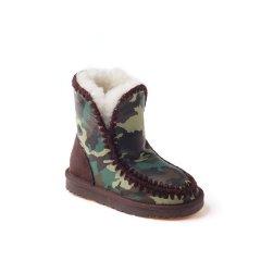 OZWEAR UGG 秋冬款儿童保暖棉鞋雪地靴OB100男童图片